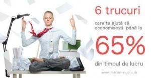 Organizarea timpului – 6 metode care-ti pot salva pană la 65 % din timpul de lucru