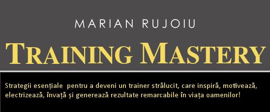 curs formare de formatori - training mastery
