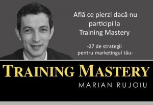 Ce pierzi daca nu participi la Train the Trainers avansat (27 de strategii pentru marketingul tau)