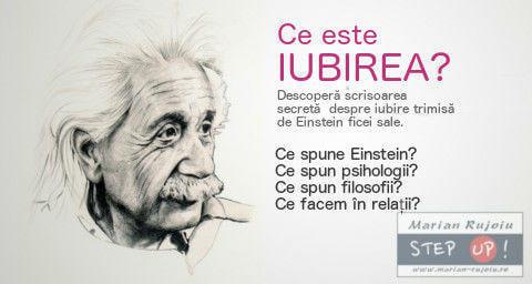 Ce este iubirea – in viziunea lui Einstein si a specialistilor?