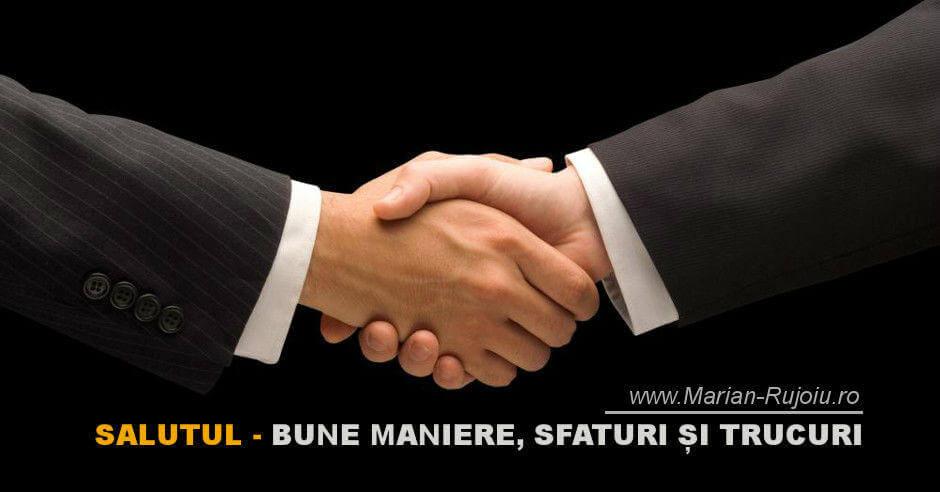 Salutul – Bunele maniere în afaceri