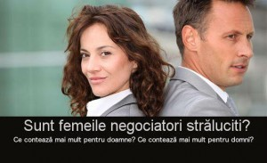 Arta negocierii – Cum negociaza femeile?